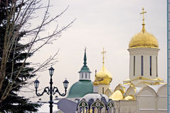 Trinity Sergius Lavra in Russia Royalty Free Stock Images