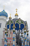 Trinity Sergius Lavra in Russia. Stock Images
