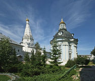 Trinity Sergius Lavra in Sergiev Posad. Ppanorama. Russian Federation. UNESCO World Heritage Site Stock Image
