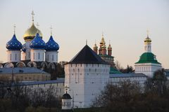 Trinity-Sergius Lavra, Sergiev Posad city Royalty Free Stock Photography