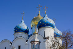 Trinity Sergius Lavra in Sergiev Posad, Russia Royalty Free Stock Images