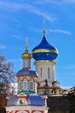Trinity Sergius Lavra in Sergiev Posad - Russia. Church in the Trinity Sergius Lavra in Sergiev Posad - Russia Stock Photography