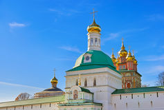 Trinity Sergius Lavra in Sergiev Posad - Russia Royalty Free Stock Photography