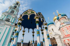 Trinity-Sergius Lavra in Sergiev Posad, Russia Royalty Free Stock Photo