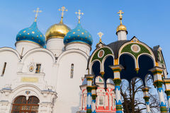Trinity-Sergius Lavra in Sergiev Posad, Russia Stock Images