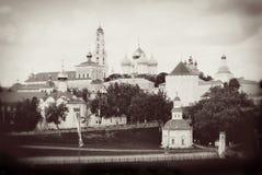 Trinity Sergius Lavra, Sergiev Posad, Russia. Stock Photo