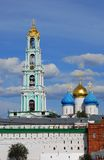 Trinity Sergius Lavra, Sergiev Posad, Russia. UNESCO World Herit Stock Photos