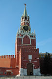 Trinity or Spasskaya Tower, The Kremlin, Moscow, Russia Stock Image