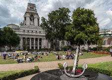 Trinity Square Gardens London Stock Images