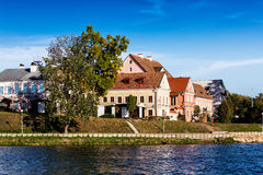 Trinity Suburb medieval part of Minsk Royalty Free Stock Photography