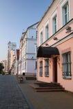 The Trinity Suburb, Starovilenskaya street in Minsk Stock Image