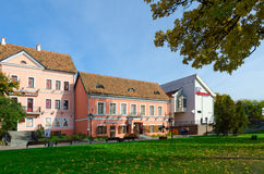 Trinity Suburb on sunny autumn day, Minsk, Belarus Stock Images
