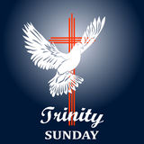 Trinity sunday. Christian church concept. Royalty Free Stock Images