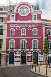 Trinity Theatre in Lisbon, Portugal Royalty Free Stock Image