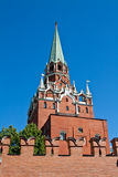 Trinity Tower Kremlin Stock Images