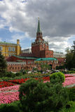 Trinity Tower of Moscow Kremlin Stock Image