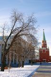 Trinity tower of Moscow Kremlin. UNESCO World Heritage Site. Stock Photography
