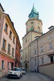 Lublin old town, Poland Royalty Free Stock Photos