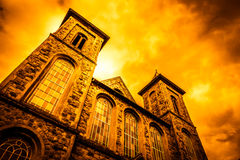 Trinity United Reformed Church Stock Images