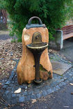 Trinkbrunnen des Wassers in Wien Stockbild