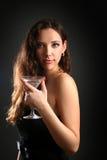 Trinken in der Dunkelheit Stockbild