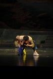 Trinken Sie das Wasser von der Strom Jiangxi-Oper eine Laufgewichtswaage Lizenzfreie Stockfotografie
