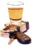 Trinken Sie nicht u. treiben Sie an Lizenzfreies Stockbild