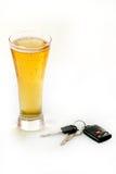 Trinken Sie nicht und treiben Sie an Lizenzfreie Stockbilder