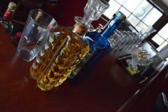 Trinkende Bar Lizenzfreies Stockfoto