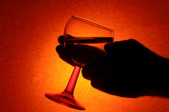 Trinkende Gewohnheit stockbilder