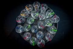Trinkender Alkohol Apre-Skis lizenzfreies stockbild