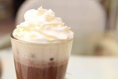 Trinkender Kakao Stockfotografie