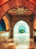 Trinkender Wasserspender der großartigen Moschee, Abu Dhabi, UAE Stockbilder