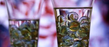 Trinkendes abstraktes Hintergrundkonzept Lizenzfreie Stockbilder