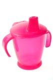 Trinkendes Cup des Schätzchens Stockfotografie