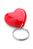 Trinket in the form of three-dimensional heart Royalty Free Stock Images
