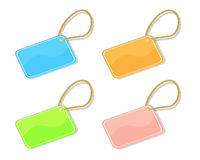 Trinket tags Stock Photo
