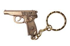 Trinket voor de sleutels als TT pistool stock foto's