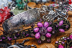 Trinkets and jewelry 1 Royalty Free Stock Photos