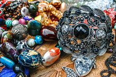 Trinkets and jewelry 2 Royalty Free Stock Photos
