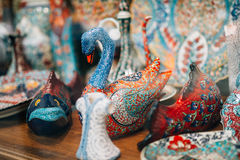 Trinkets in a souvenir store Royalty Free Stock Image