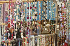 Trinkets stall Royalty Free Stock Image