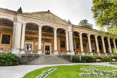 Trinkhalle, casa de bomba no complexo dos termas de Kurhaus em Baden-Baden Fotos de Stock Royalty Free