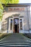 Trinkhalle, casa de bomba no complexo dos termas de Kurhaus em Baden-Baden Imagens de Stock