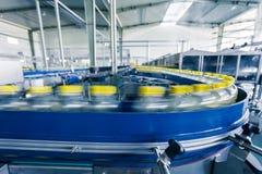 Trinkt Produktionsanlage in China stockfotografie