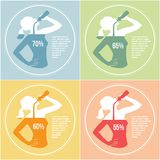 Trinkwasser 3 Lizenzfreies Stockbild