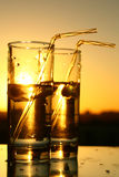 Trinkwasser stockbild