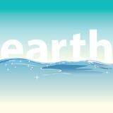 Trinkwasser für das Leben und Welt Lizenzfreies Stockfoto