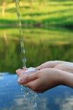Trinkwasserkonzept Lizenzfreies Stockbild