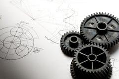 Trinquetes mecánicos Foto de archivo libre de regalías